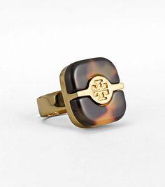 Tory Burch Tortoise Ring