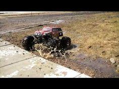 Traxxas Summit RC Spring Mud Splash and Bash