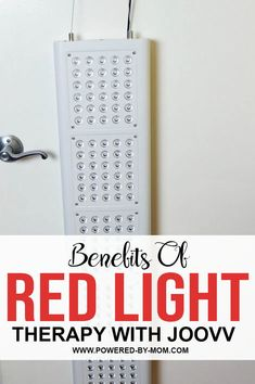 I admit I had not heard of red light therapy until I recently came in contact with the company Joovv and their Red Light Therapy machines and all they had to offer. I was intrigued as it can possibly help with many issues from reducing joint inflammation to reducing wrinkles, enhancing muscle recovery and more.