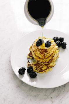 Blender to Breakfast: Lemon Ricotta Pancakes