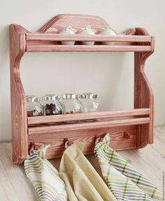 Wooden Shelves, Wall Shelves, Pallet Furniture, Furniture Plans, Woodworking Plans, Woodworking Projects, Wood Crafts, Diy And Crafts, Plate Racks