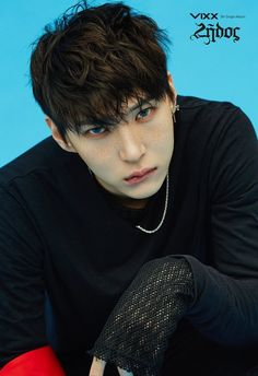 Image: VIXX Leo for Zelos album / Jellyfish Entertainment K Pop, Shinee, Leo Vixx, Vixx Ken, Moorim School, Jung Taekwoon, Lip Biting, Jellyfish Entertainment, Sexy