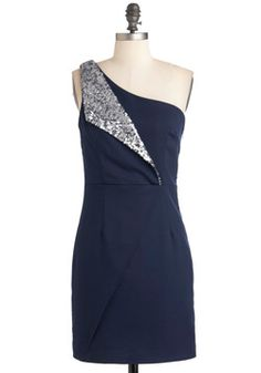 I actually like this even though I don't really like the idea of sequins...    Cocktails with Coworkers Dress, #ModCloth