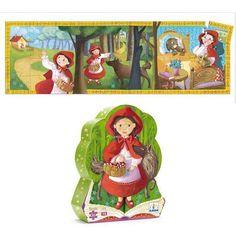 Puzzle Rotkäppchen von Djeco 36 Teile, ab 4 Jahre