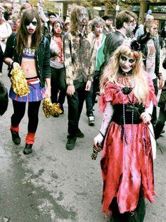 Toronto Zombie Walk 2012