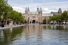 Rijksmuseum, Amsterdam. The largest and most prestigious museum for art and history in the Netherlands. It has a large collection of paintings from the Dutch golden age, including works by Vermeer and Rembrandt.