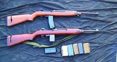 Often dismal as issued, there are a host of options to accurized the M1 Carbine and get the little rifle to sing. 30 Carbine, M1 Garand, Battle Rifle, Tactical Rifles, Personal Defense, Guns And Ammo, Shotgun, Archery, Winchester