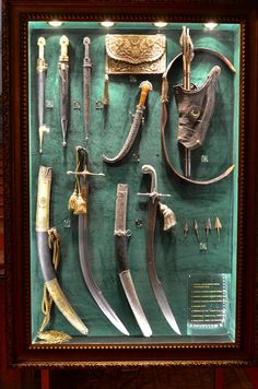 Armor and weapons etc from Yildiz Palace, Turkey.