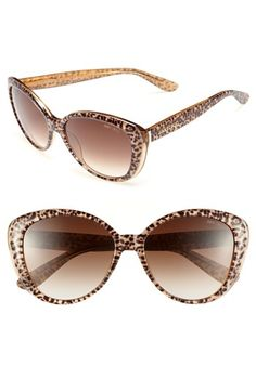 Jimmy Choo 55mm Sunglasses available at Nordstrom