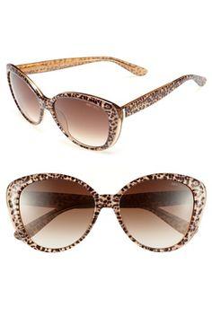 Jimmy Choo Leopard Sunglasses  Nordstrom @Nordstrom