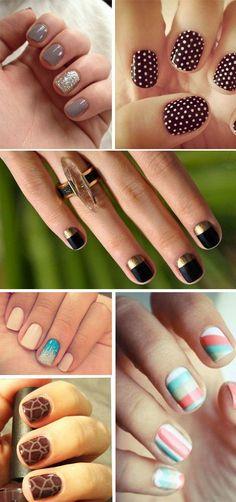 Short Nails Idee - Nail art per unghie corte