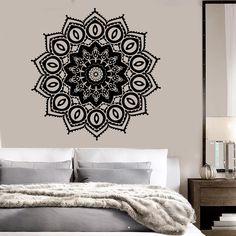 Vinyl Wall Decal Mandala Buddhism Hinduism Bedroom Decor Stickers (ig3554)