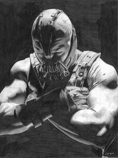 Tom Hardy Bane. If I had a mancrush, it'd probably be Tom.