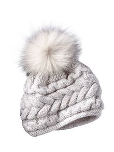 fb668f5b84b cable cashmere knit hat - Gorsuch  380