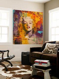 Marilyn 3 Loft Art by Micha at Art.com