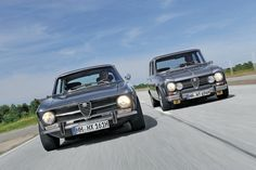 Alfa Romeo GT 1600 Junior and Giulia Super