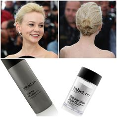 We love the effortless updo #CareyMulligan sported at The Great Gatsby photocall at Cannes Film Festival - recreate it with label.m Volume Mousse and label.m Resurrection Style Dust!