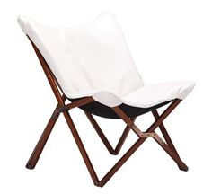 Draper White Leatherette 22-Inch-H Zuo Lounge Chair #interior_design #lounge_chair http://www.eurostylelighting.com/euv7744.htm