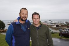 Jeff Corwin and Mike Rutzen The Great White, Great White Shark, Shark Cage, Shark Conservation, Shark Diving, Wall Of Fame, My Friend, Friends, South Africa