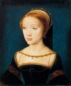 Anne de Pisseleu, duchesse d'Étampes or Young unknown French Lady by Corneille de Lyon (location unknown to gogm) the lost gallery