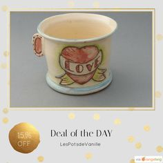 Today Only! 15% OFF this item.  Follow us on Pinterest to be the first to see our exciting Daily Deals. Today's Product: Sale - christmas town Mug Old School Tattoo Coffee Tea Hipster Love Handmade Ceramic glazed green hand pink heart star France Nautique cream Buy now: https://www.etsy.com/listing/232871608?utm_source=Pinterest&utm_medium=Orangetwig_Marketing&utm_campaign=black%20friday   #etsy #etsyseller #etsyshop #etsylove #etsyfinds #etsygifts #loveit #instagood #instacool #shop…