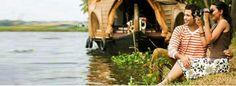 Houseboat honeymoon in Kerala.