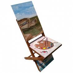 """Spazio Liberto Torino - the unhandy """"Boats"""". Wooden folding valet - italian design"""