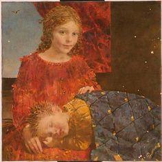 Por amor al arte: Sergei Rimoshevsky Sleep Dream, Mona Lisa, Children, Kids, Artwork, Painting, Illustrations, Real Life, Faces