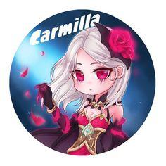 Moba Legends, Mobile Legend Wallpaper, Carmilla, Bae Suzy, Anime Chibi, Cute Illustration, True Colors, Picture Photo, Art Girl