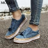 Women's Shoes Slip On Hollow Out Flats Loafers Casual Sneakers 5 Colors Loafer Sneakers, Casual Sneakers, Casual Shoes, Loafer Flats, Loafers For Women, Ladies Loafers, Sneakers Women, Ladies Slips, Womens Flats