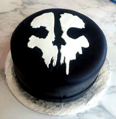 Call of duty ghosts cake