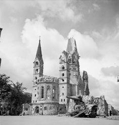 K.W.Gedaechtniskirche 1945