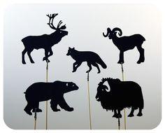 Animal shadow puppets