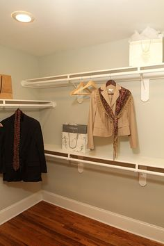 {Completed} Our Investment/Flip Home Reveal!- simple closet idea
