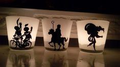 Waxinelichtjes Sinterklaas