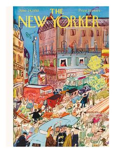 1950's New Yorker Covers Prints at the Condé Nast Collection