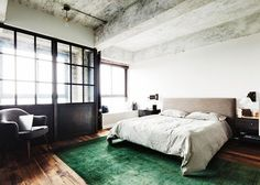 Bedroom from Tumblr founder David Karp's $1.6 million New York City loft apartment in the Williamsburg neighborhood (6 pictures)