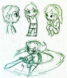 Toon Link - Legend of Zelda