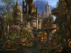 Noldorin city