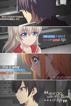 """Not everything will go as you expect in your life, this is why you need to drop expectations and go with the flow of life.."" 
