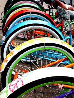 Bikes in Copenhagen Denmark