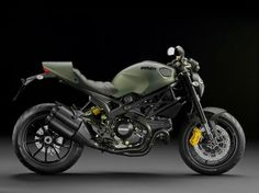 Santa, you didn't bring this last year. I'll put this Ducati in Olive Drab back on my list this year. I have been a good boy! Really!!!!