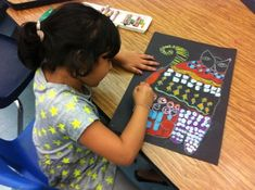 Take a sneak peek at the Fabulous Felines 1st grade artists are in the middle of making! Inspired by artist, Laurel Burch, these students are incorporating the elements of design (line, shape,...
