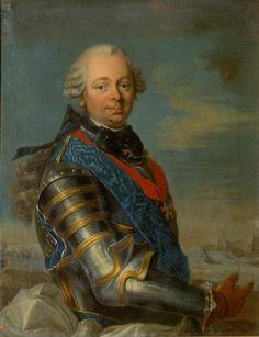 Etienne-François de Choiseul-Stainville, 1er. Duc de Choiseul-Amboise & Pair de France (1719 - 1785). / L.M. Van Loo.
