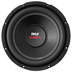 Pyle Car Subwoofer Audio Speaker - Non-Pressed Paper Cone, Black Steel Basket, Dual Voice Coil 4 Ohm Impedance, 800 Watt Power and Foam Surround for Vehicle Stereo Sound System - The voice coil can resist corrosion and ensure a longer life span. 12 Inch Subwoofer, Subwoofer Speaker, Powered Subwoofer, Powered Speakers, Jl Audio, Audio Speakers, Speaker Wire, Audio Sound, Speaker System