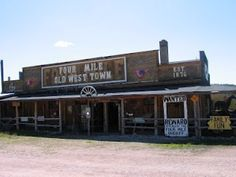A great stop in South Dakota -- the 4 Mile Ghost Town is worth the stop!!! Kids loved it!