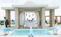 Excellence Playa Mujeres Fountain Decor. View a few of their amazing options at www.inspirationtravel.com/inspiration