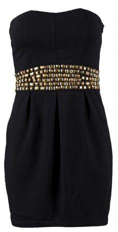 Strapless Stud Dress