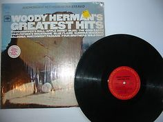 """WOODY HERMAN's """"Greatest Hits"""" Columbia Records 33 NM LP Free S/H USA"""