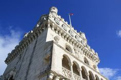Monastery of the Hieronymites and Tower of Belém in Lisbon, Portugal